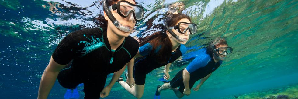 snorkel en La Playa de Las Canteras