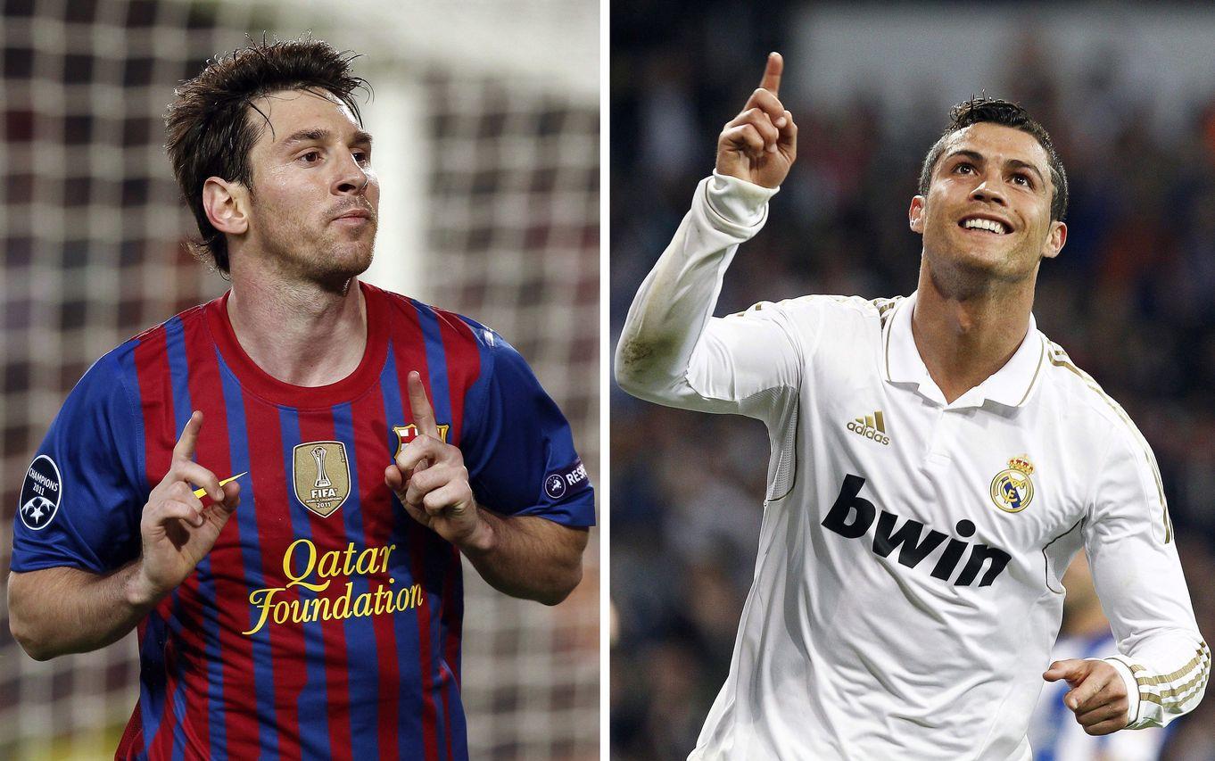 Mesi y Ronaldo, los mejores jugadores del mundo