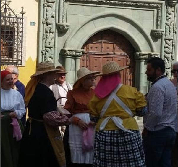 Vegueta, trajes tipicos Canarios