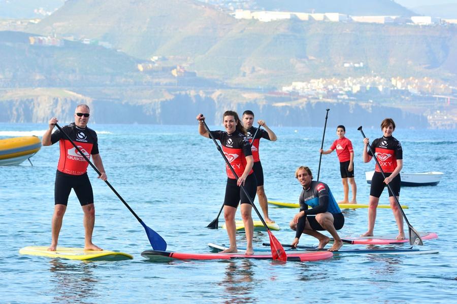 Padel surf in Gran Canaria