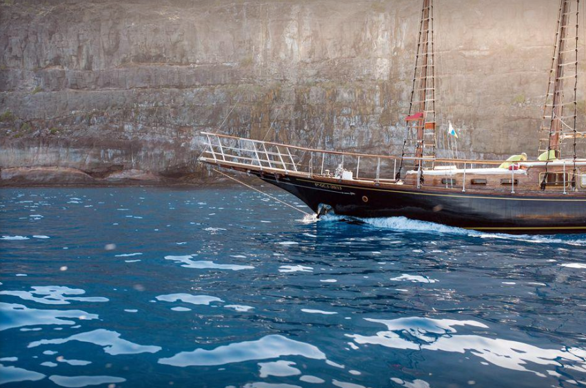 Navegando por Gran Canaria