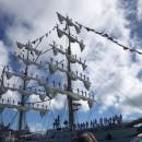 Llegada a Las Palmas de Gran Canaria del espectacular buque-escuela mexicano Cuauhtémoc