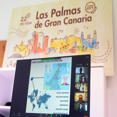 Las Palmas de Gran Canaria, ciudad de moda para los nómadas digitales