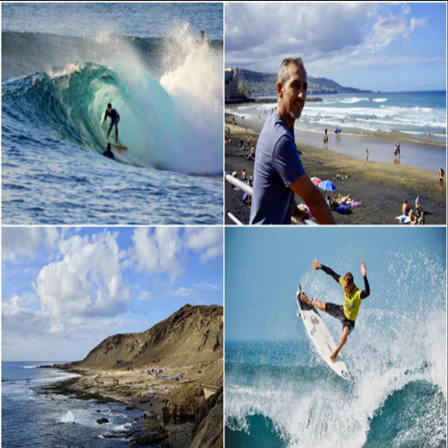 La Guía Repsol traza la ruta de surf en Las Palmas de Gran Canaria y destaca la derecha de El Confital como una de las mejores de España