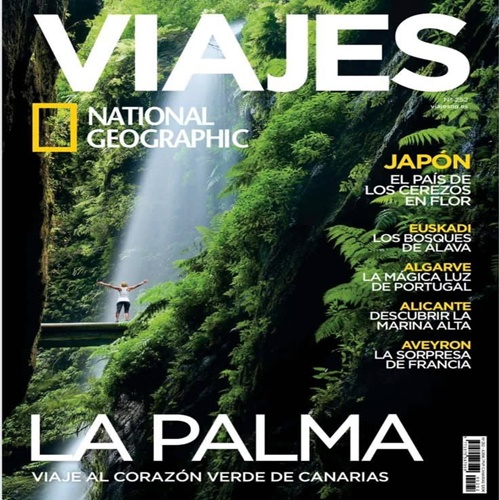 La Palma, portada de la revista National Geographic