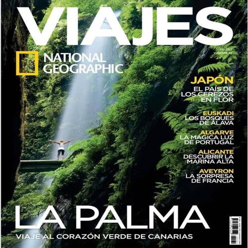 La Palma, portada de la revista National Geographic
