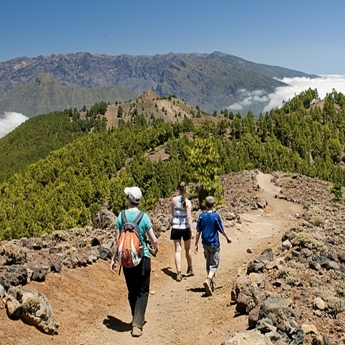 La Palma, Ruta de los Volcanes para grupos
